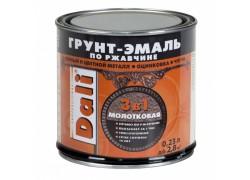 DALI® Грунт-эмаль по ржавчине 3В1 молотковая