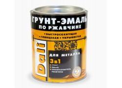 DALI® Грунт-эмаль по ржавчине 3 в 1 гладкая