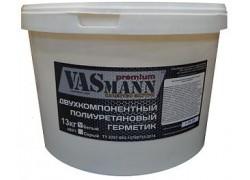 Двухкомпонентный полиуретановый герметик VASmann premium, белый, 12,5 кг