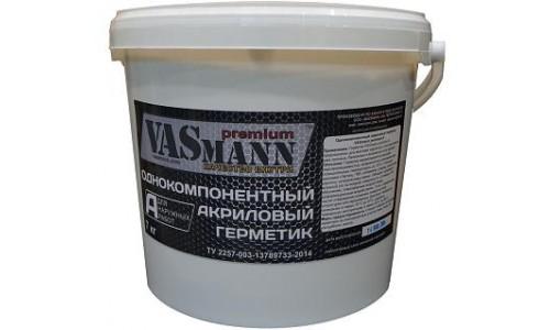 Герметик акриловый для наружных работ VASmann premium A, белый, 7 кг