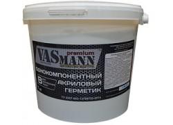 Герметик акриловый для внутренних работ VASmann premium B, белый, 7 кг