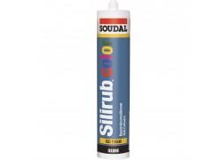 Герметик силиконовый Soudal Silirub Color