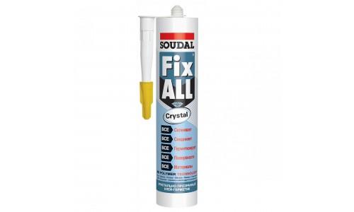 Клей-герметик Soudal Fix All Crystal